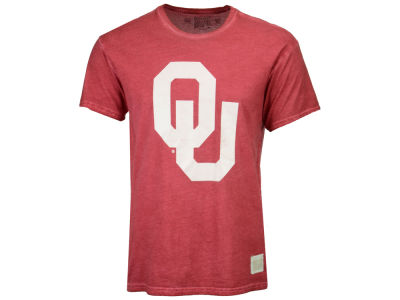 Oklahoma Sooners Retro Brand NCAA Men's Oil Wash Logo T-Shirt