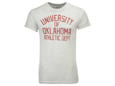 Oklahoma Sooners Retro Brand NCAA Men's Tri-blend Property Of T-Shirt