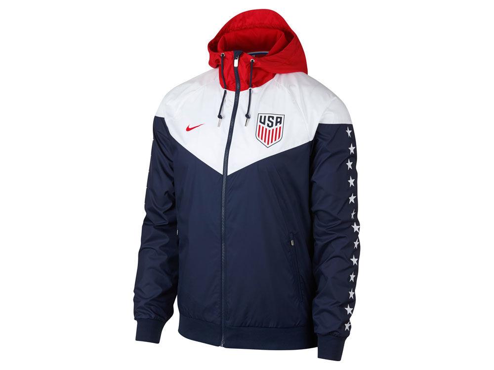 USA Nike National Team Men s Crest Windrunner Jacket  e87f9e093