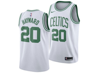 Boston Celtics Gordon Hayward Nike NBA Men's Association Swingman Jersey