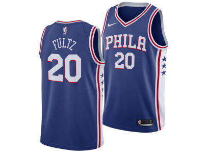 Philadelphia 76ers Markelle Fultz Nike NBA Men's Icon Swingman Jersey