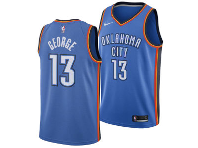 Oklahoma City Thunder Paul George Nike NBA Men's Icon Swingman Jersey