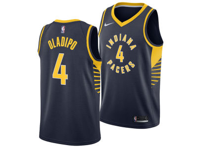 Indiana Pacers Victor Oladipo Nike NBA Men's Icon Swingman Jersey