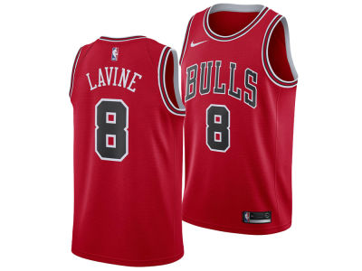 Chicago Bulls ZACH LAVINE Nike NBA Men's Icon Swingman Jersey