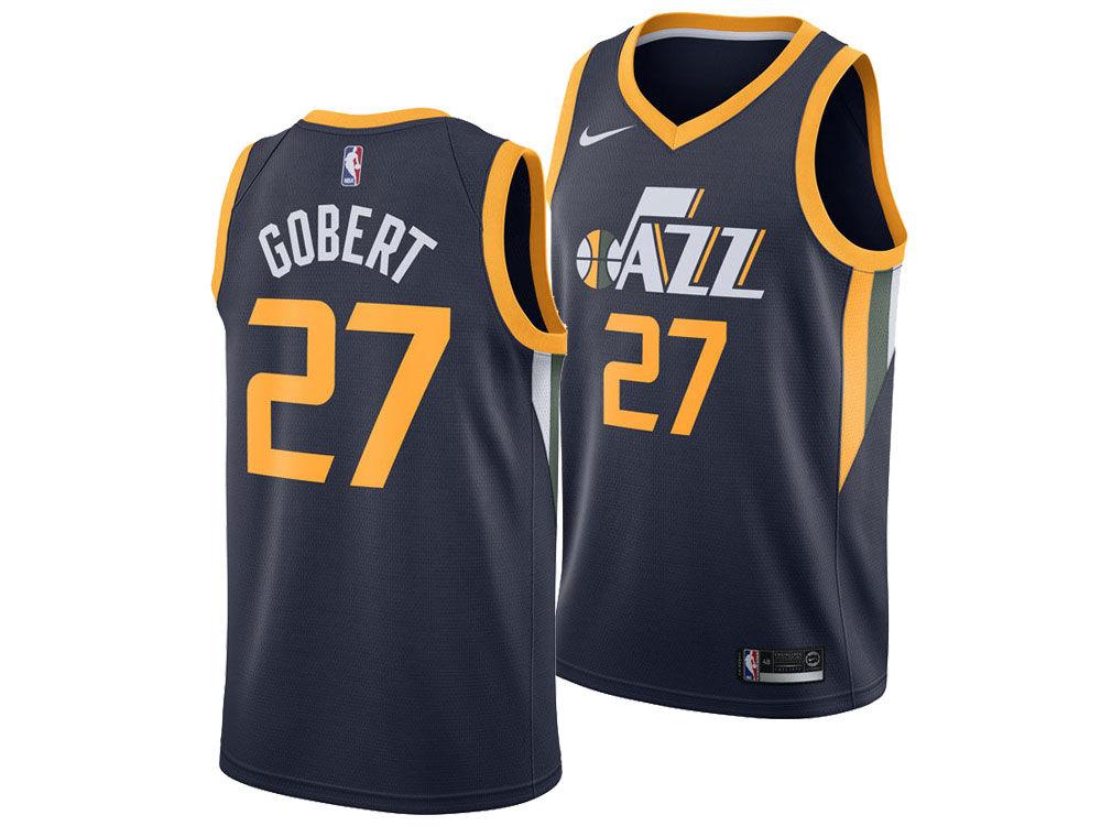 e89cf66bf Utah Jazz Rudy Gobert Nike NBA Men s Icon Swingman Jersey