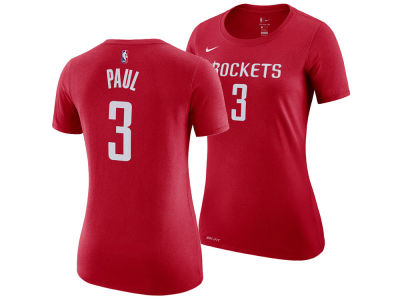 Houston Rockets Chris Paul Nike NBA Women's Name and Number Player T-Shirt