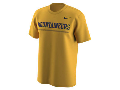 West Virginia Mountaineers Nike NCAA Men's Fresh Trainer Hook T-Shirt