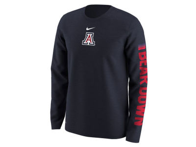 Arizona Wildcats Nike NCAA Men's Fresh Trainer Hook Long Sleeve T-Shirt