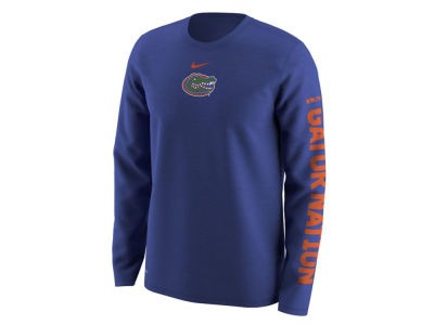 Florida Gators Nike NCAA Men's Fresh Trainer Hook Long Sleeve T-Shirt
