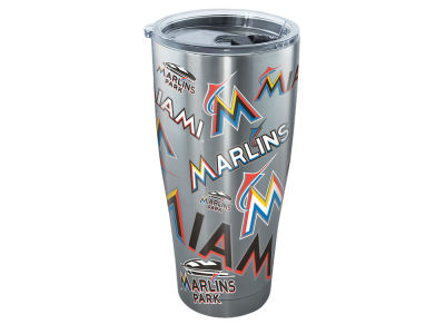 Miami Marlins Tervis 30oz All Over Stainless Steel Keeper