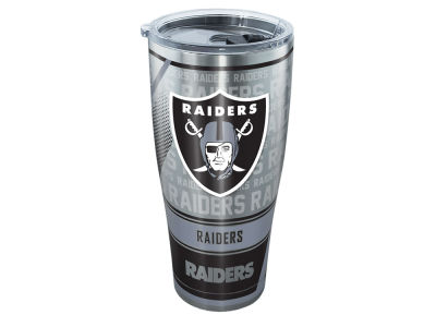 Oakland Raiders Tervis 30oz All Over Stainless Steel Keeper