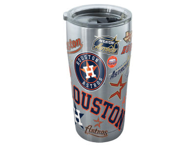 Houston Astros Tervis 20oz All Over Stainless Steel Keeper