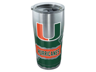 Miami Hurricanes Tervis 20oz All Over Stainless Steel Keeper