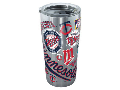 Minnesota Twins Tervis 20oz All Over Stainless Steel Keeper