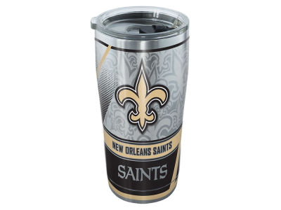 New Orleans Saints Tervis 20oz NFL Edge Stainless Steel Tumbler