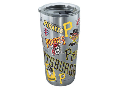 Pittsburgh Pirates Tervis 20oz All Over Stainless Steel Keeper