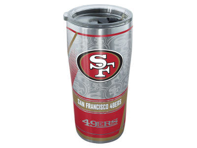San Francisco 49ers Tervis 20oz All Over Stainless Steel Keeper