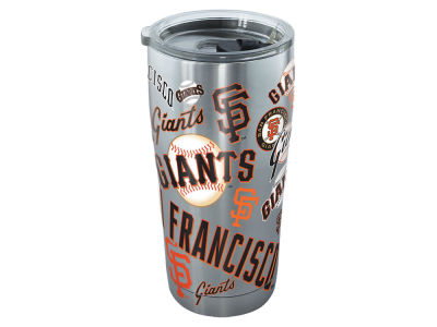 San Francisco Giants Tervis 20oz MLB All Over Stainless Steel Tumbler