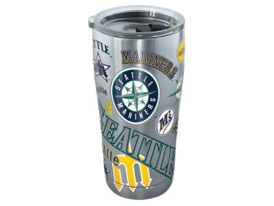 Seattle Mariners Tervis 20oz All Over Stainless Steel Keeper
