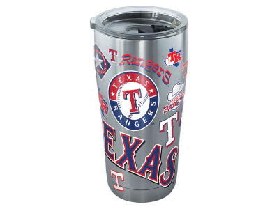 Texas Rangers Tervis 20oz All Over Stainless Steel Keeper
