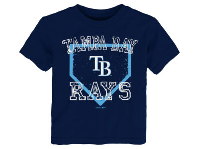Tampa Bay Rays Majestic MLB Toddler Fan Base T-Shirt