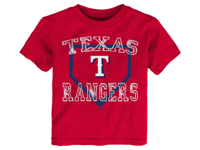 Texas Rangers Majestic MLB Toddler Fan Base T-Shirt