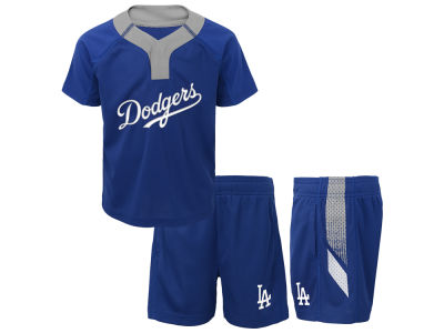 Los Angeles Dodgers MLB Toddler Ground Rules Short Set