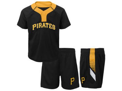 Pittsburgh Pirates MLB Toddler Ground Rules Short Set