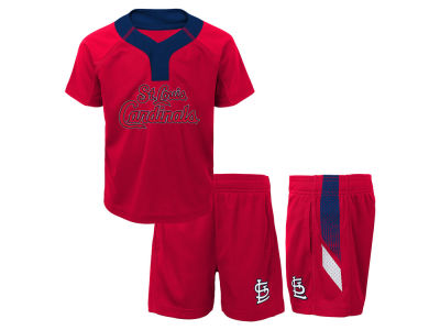 St. Louis Cardinals MLB Infant Ground Rules Short Set
