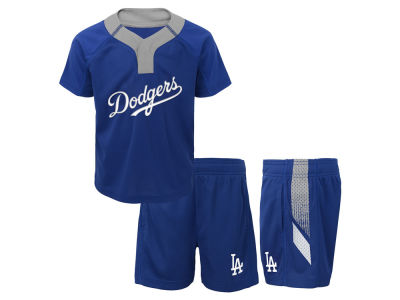 Los Angeles Dodgers MLB Infant Ground Rules Short Set