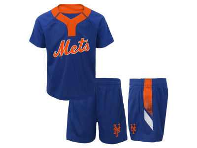 New York Mets MLB Infant Ground Rules Short Set
