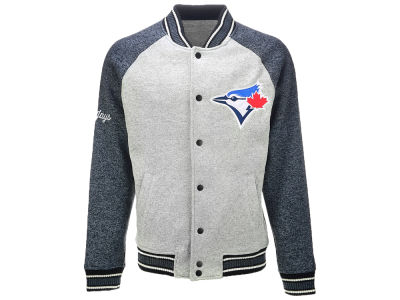Toronto Blue Jays G-III Sports MLB Men's The Ace Varsity Jacket