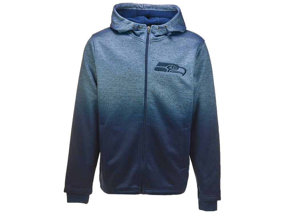 Seattle Seahawks G-III Sports NFL Men s Horizon Full Zip Hoodie ... 89e67d8b9