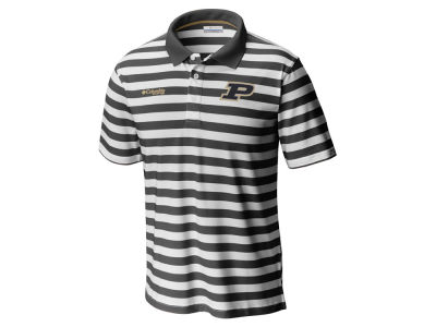 Purdue Boilermakers Columbia NCAA Men's Super Low Drag Polo