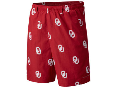 Oklahoma Sooners Columbia NCAA Men's Backcast Printed Short