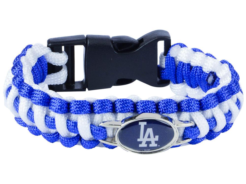 Los Angeles Dodgers Aminco Paracord Bracelet