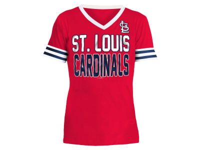 St. Louis Cardinals 5th & Ocean MLB Girls Rhinestone T-Shirt