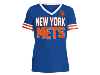 New York Mets 5th & Ocean MLB Girls Rhinestone T-Shirt
