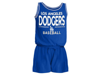 Los Angeles Dodgers 5th & Ocean MLB Girls Sparkle Romper
