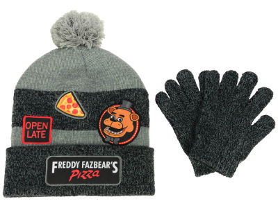 Five Nights at Freddy's Logo Patch Beanie Combo