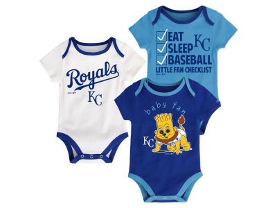 Kansas City Royals MLB Newborn Play Ball 3 Piece Set