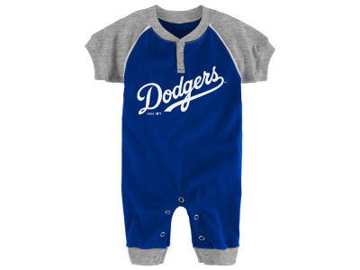 Los Angeles Dodgers Majestic MLB Newborn Gametime Coverall
