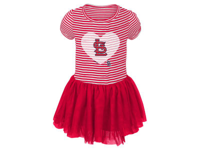 St. Louis Cardinals Majestic MLB Infant Girls Celebration Tutu Dress