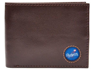 Los Angeles Dodgers Jack Mason Brown Leather Bifold Wallet