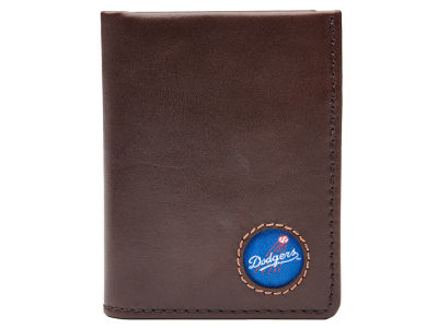 Los Angeles Dodgers Jack Mason Brown Leather Front Pocket Wallet
