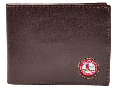 St. Louis Cardinals Jack Mason Brown Leather Bifold Wallet