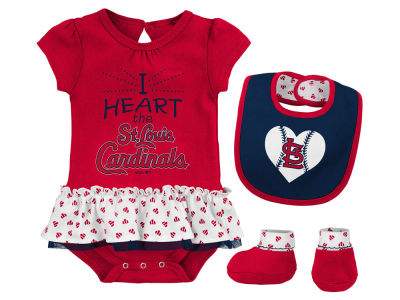 St. Louis Cardinals MLB Newborn Girls Bib & Booty Set