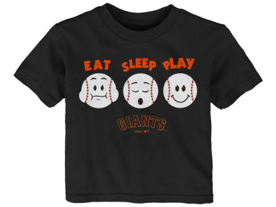 San Francisco Giants Majestic MLB Infant Eat, Sleep, Play T-Shirt