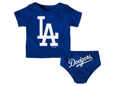 Los Angeles Dodgers Outerstuff MLB Infant Mini Uniform Set