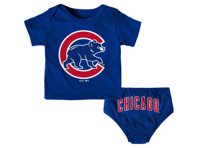 Chicago Cubs Outerstuff MLB Infant Mini Uniform Set